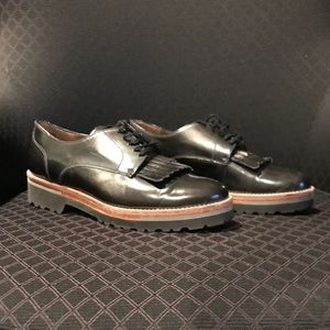 PERTINI Oxford Flats WORN TWICE! AMAZING CONDITION